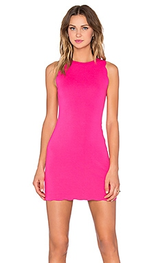 For Love & Lemons x REVOLVE Rosarito Dress in Hot Pink