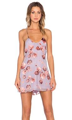 For Love & Lemons Marina Mini Dress in Sunset