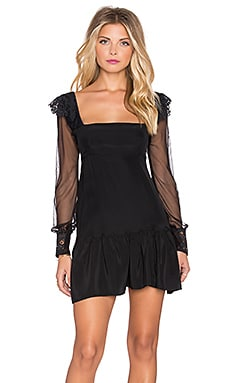 Kate Mini Dress in Black