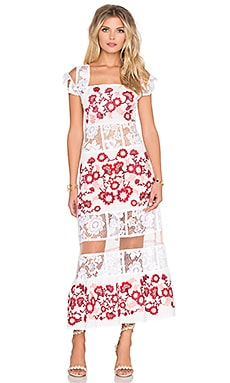 For Love & Lemons Cecelia Dress in White