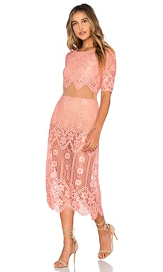 For Love & Lemons x REVOLVE Dress in Pink