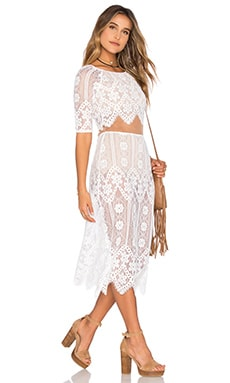 x REVOLVE Dress in White