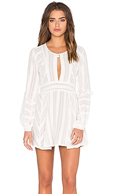 For Love & Lemons Alessandra Dress in White