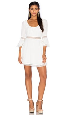 x REVOLVE Angelina Dress in Ivory