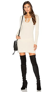 KNITZ Delancey Dress in Creme