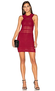 KNITZ Rivington Tank Dress in Raspberry