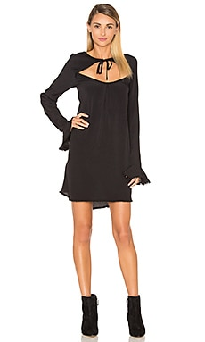 Josephina Swing Dress in Black