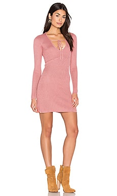 KNITZ Delancey Dress in Vintage Rose