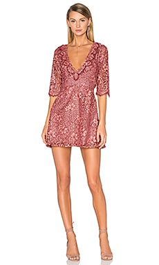For Love & Lemons Theodora Dress in Rosie