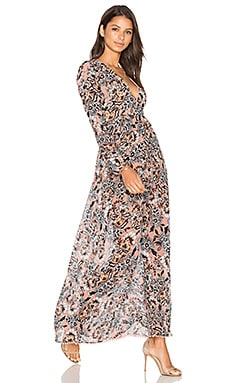 Gracie Dress in Nude Floral