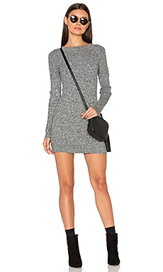 KNITZ Lafayette Dress in Black & Ivory