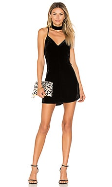 Collette Tank Dress in Noir