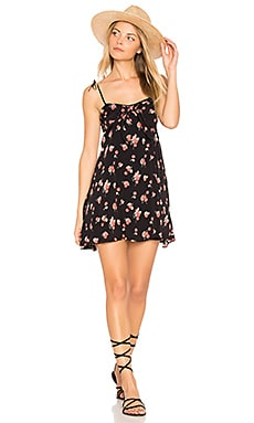 Cherry Tank Dress in Cherry Noir