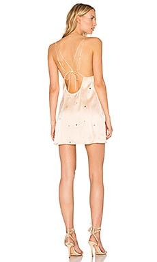 Купить Платье-комбинация twinkle - For Love & Lemons, Мини, Китай, Румянец
