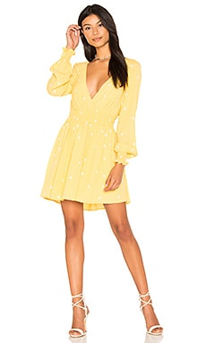 Chiquita Long Sleeve Dress in Daisy