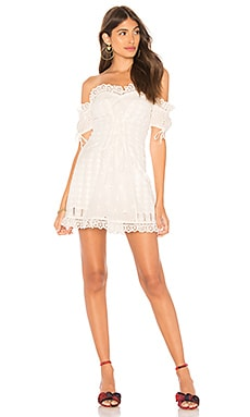 Anabelle Eyelet Lace Up Dress For Love & Lemons $127