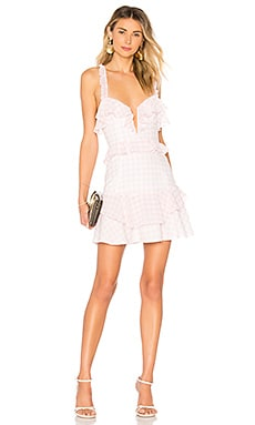 Dixie Ruffled Mini Dress For Love & Lemons $194 BEST SELLER