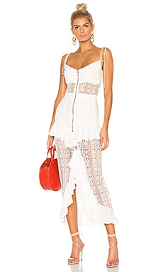 Lovebird Lace Midi Dress For Love & Lemons $268 BEST SELLER