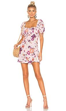 Купить Мини платье magnolia - For Love & Lemons, Китай, Розовый