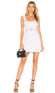 Daria Denim Underwire Dress For Love & Lemons $211