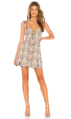 Brocade Tapestry Mini Dress For Love & Lemons $216