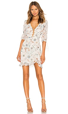 Elyse Flirty Mini Dress For Love & Lemons $216
