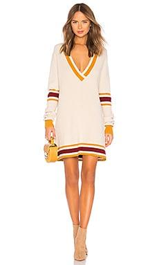 ivy League Sweater Dress For Love & Lemons $216