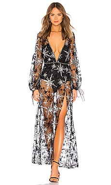 Stardust Maxi Dress For Love & Lemons $348 NEW ARRIVAL