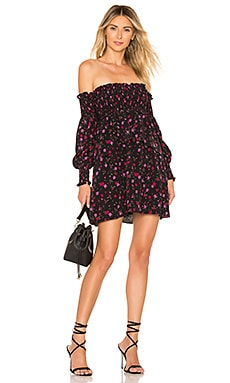 X REVOLVE Off The Shoulder Dress For Love & Lemons $109