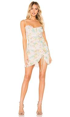 Serafine Mini Dress For Love & Lemons $308 NEW ARRIVAL