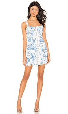3147c372d3bb X REVOLVE Monika Hook Front Mini Dress For Love & Lemons $189 ...
