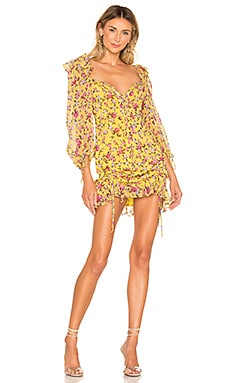Beaumont Mini Dress For Love & Lemons $262 NEW ARRIVAL
