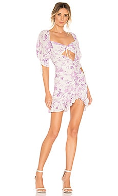 X REVOLVE Lovely Mini Dress For Love & Lemons $211