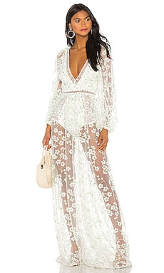 7daa223de2b5 Eclair Maxi Dress For Love & Lemons $374 ...