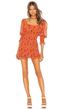 Peony Mini Dress For Love & Lemons $264