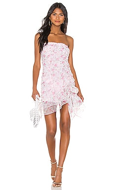 X REVOLVE Strapless Mini Dress For Love & Lemons $102