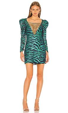 Vixen Lace Up Dress For Love & Lemons $170