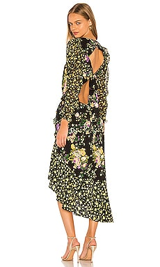 ROBE MI-LONGUE ROSS For Love & Lemons $282