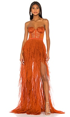 X REVOLVE Bustier Gown For Love & Lemons $348