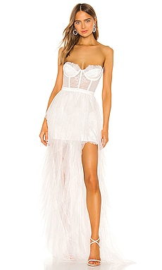 X REVOLVE Bustier Gown For Love & Lemons $348 Wedding