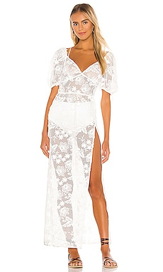 ROBE MAXI DAISY For Love & Lemons $246