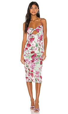 Robin Floral Midi Dress For Love & Lemons $108