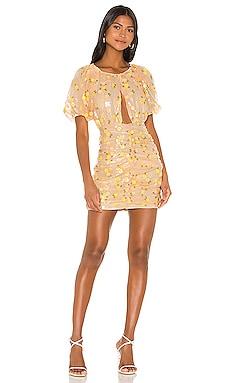 Ryder Sequin Mini Dress For Love & Lemons $186