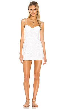 МИНИ ПЛАТЬЕ PICNIC For Love & Lemons $189