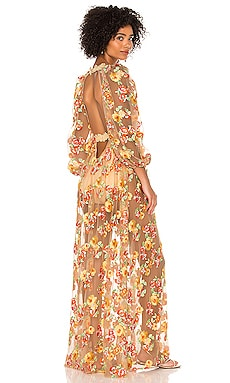 Winnie Embroidered Maxi Dress For Love & Lemons $306