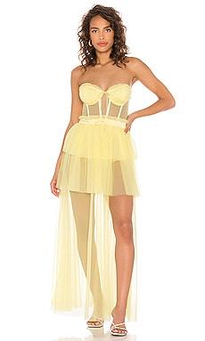 Платье с бюстье sunshine - For Love & Lemons