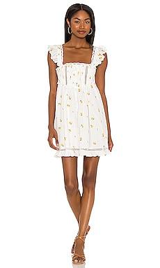 Leanne Mini Dress For Love & Lemons $238 NEW