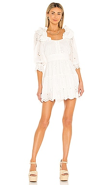 Serena Mini Dress For Love & Lemons $235 NEW