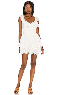 Serena Sleeveless Dress For Love & Lemons $227 NEW