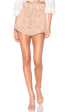 Isla Striped Short For Love & Lemons $72